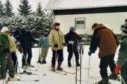 erste skiversuche